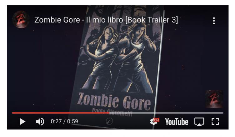 zombie gore booktrailer curiosando